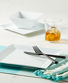 The Cellar Whiteware Square Collection, Created for Macy's