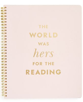 kate spade new york For Reading Large Spiral Notebook