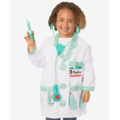 Melissa and Doug Doctor Deluxe Role Play Costume Set