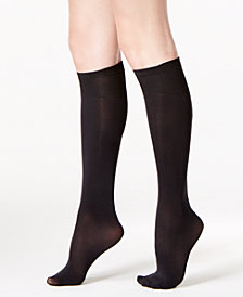 DKNY Women's Knee High Socks