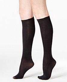 DKNY Women's Knee High Socks