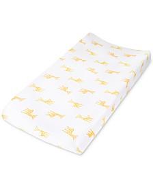 aden by aden + anais Baby Boys & Girls Giraffe-Print Cotton Changing Pad Cover