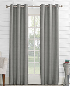 "Sun Zero Oscar 40"" x 95"" Thermal Lined Grommet Curtain Panel"