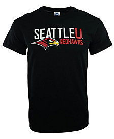New Agenda Men's Seattle Redhawks Big Logo T-Shirt