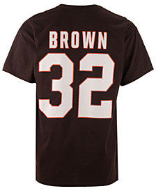 Majestic Men's Jim Brown Cleveland Browns HOF Eligible Receiver T-Shirt