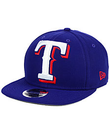 New Era Texas Rangers Logo Grand 9FIFTY Snapback Cap