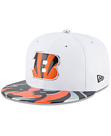 New Era Boys' Cincinnati Bengals 2017 Draft 59FIFTY Cap