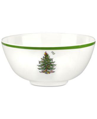 Christmas Tree Melamine Bowl
