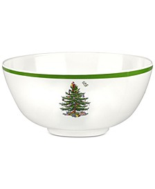 Christmas Tree Melamine Bowl