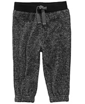 ad320054d First Impressions Marled Jogger Pants, Baby Boys, Created for Macy's