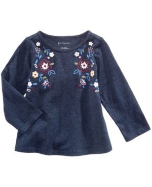 First Impressions FloralPrint Cotton TShirt Baby Girls (024 months) Created for Macys