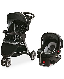 FastAction Sport Stroller & SnugRide Click Connect 35 Car Seat Travel System