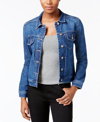 Lee Platinum Kira Denim Jacket - Jackets - Women - Macy's