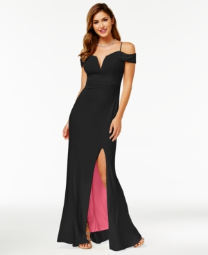 db35f38682e0 UPC 708008301456 product image for City Studios Juniors  Off-The-Shoulder  Gown ...