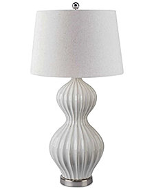 Abbyson Chloe Fluted Table Lamp