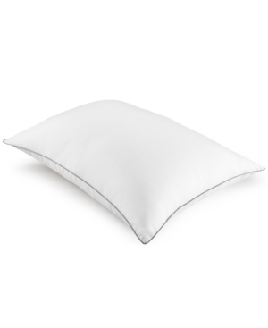 Dream Science Memorelle Memory Foam Alternative Firm King Pillow By Martha Stewart Collection Created for Macys Bedding