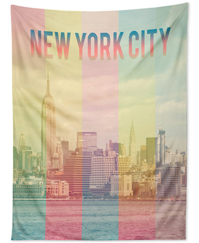 Deny Designs Catherine Mcdonald New York City Tapestry