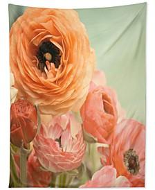 Bree Madden Spring Ranunculus Tapestry
