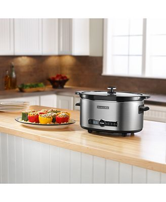 kitchenaid ksc6223 6 qt. slow cooker - electrics - kitchen - macy's