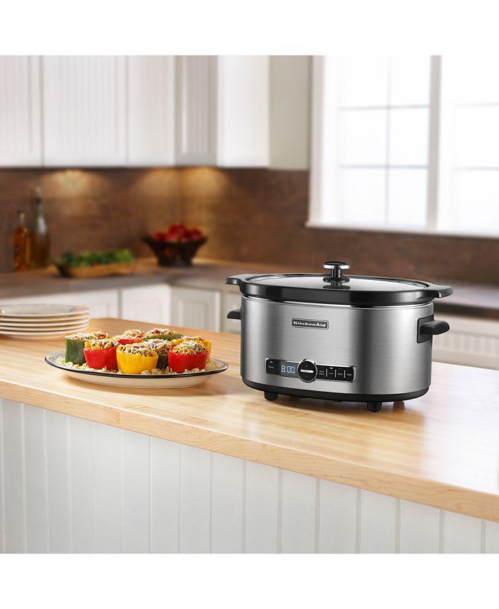 KitchenAid - KSC6223 Slow Cooker, 6 Qt.