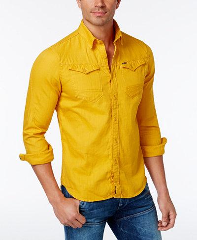 G-Star Raw Men's Arc 3D Button-up Shirt - Casual Button-Down ...