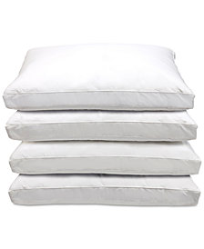Blue Ridge Optima-Loft Standard Down Alternative Pillows, 4-Pack