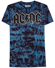 AC-DC Tie-Dye Men's T-Shirt by Hybrid Apparel
