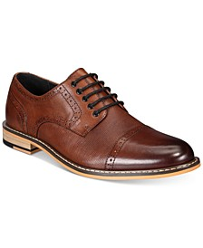 Men's Parker Leather Cap-Toe Brogues Created for Macy's