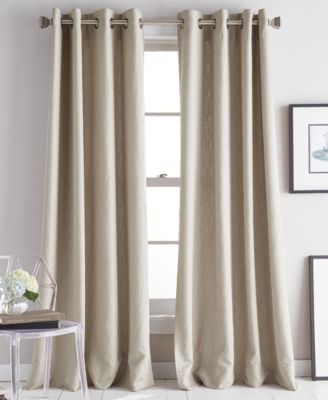"Avenue 50"" x 95"" Jacquard Grommet Curtain Panel"