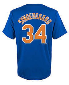 Majestic Noah Syndergaard New York Mets Official Player T-Shirt, Infant Boys (12-24 months)
