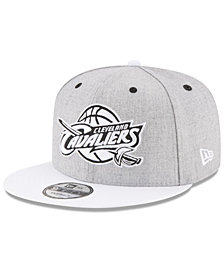 New Era Cleveland Cavaliers White Vize 9FIFTY Snapback Cap