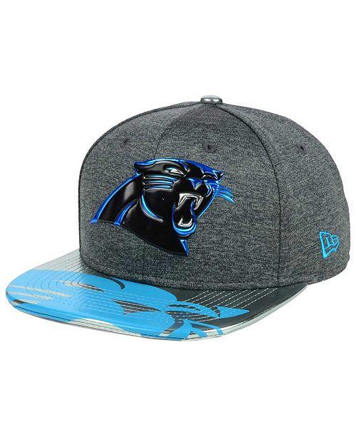 65232cf6b1b ... New Era Carolina Panthers 2017 Draft 9FIFTY Snapback Cap ...
