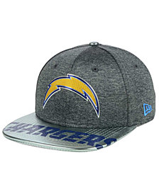 New Era Los Angeles Chargers 2017 Draft 9FIFTY Snapback Cap