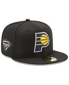 New Era Indiana Pacers Metallic Diamond Patch 59FIFTY Fitted Cap