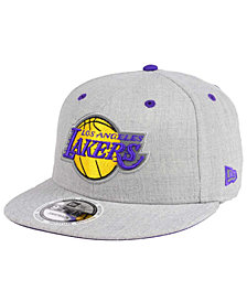 New Era Los Angeles Lakers Total Reflective 9FIFTY Snapback Cap