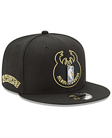 New Era Milwaukee Bucks Playoff Push 9FIFTY Snapback Cap