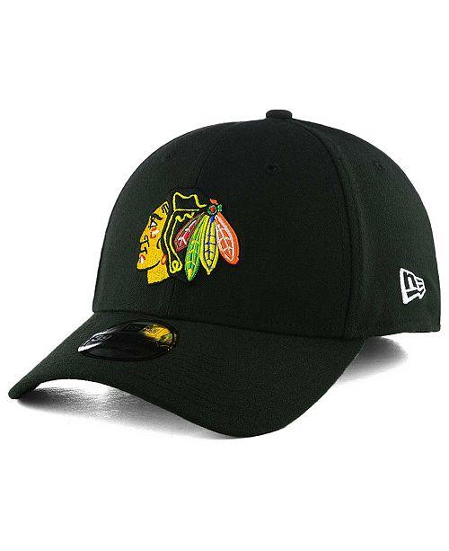the best attitude 9b476 d5710 ... New Era Chicago Blackhawks Team Classic 39THIRTY Cap ...