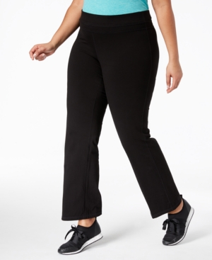 Plus Size Flex Stretch Active Yoga Pants