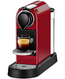 Nespresso By Breville CitiZ Red Espresso Machine
