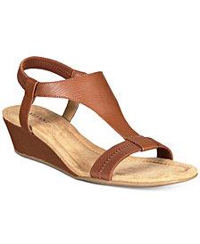 Alfani Women's Vacanzaa Wedge Sandals, Created for Macy's