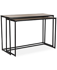 Garin Console Table Set, Quick Ship