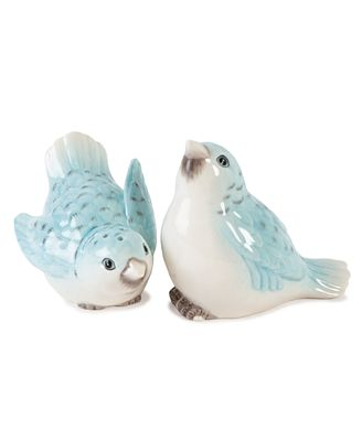 CLOSEOUT! Edie Rose by Rachel Bilson Dinnerware, Bloom Birds Salt and Pepper Shakers