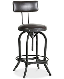 Kalber Bar Stool, Quick Ship