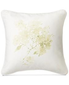 "PRICE BREAK! Lakeview Floral-Print 18"" Square Decorative Pillow"