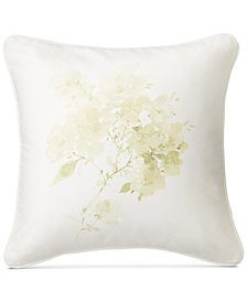 "Lauren Ralph Lauren Lakeview Floral-Print 18"" Square Decorative Pillow"