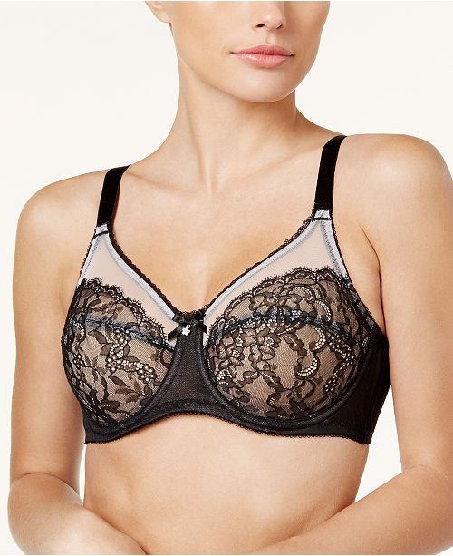 25e1140547 Wacoal Retro Chic Full-Figure Underwire Bra 855186   Reviews - All ...