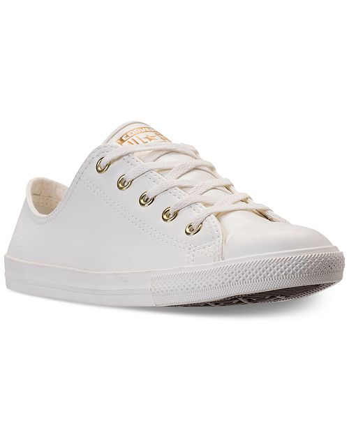 348caad3a6ac ... Converse Women s Chuck Taylor Dainty Craft SL Casual Sneakers from Finish  Line ...