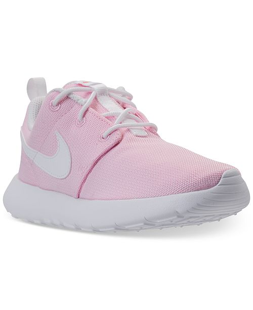 cfd684bb18 Nike Little Girls' Roshe One Casual Sneakers from Finish Line ...