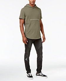 Jaywalker Short-Sleeve Hoodie & Rip and Repair Jeans, Created for Macys