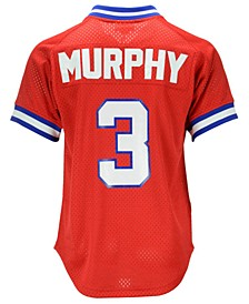 Men's Dale Murphy Atlanta Braves Authentic Mesh Batting Practice V-Neck Jersey